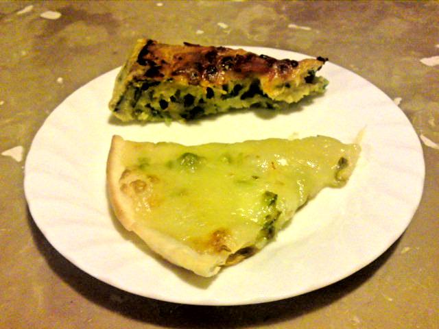 ふきのとうピザ